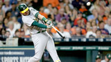 Healy's 1st slam lifts Athletics over Astros 6-4