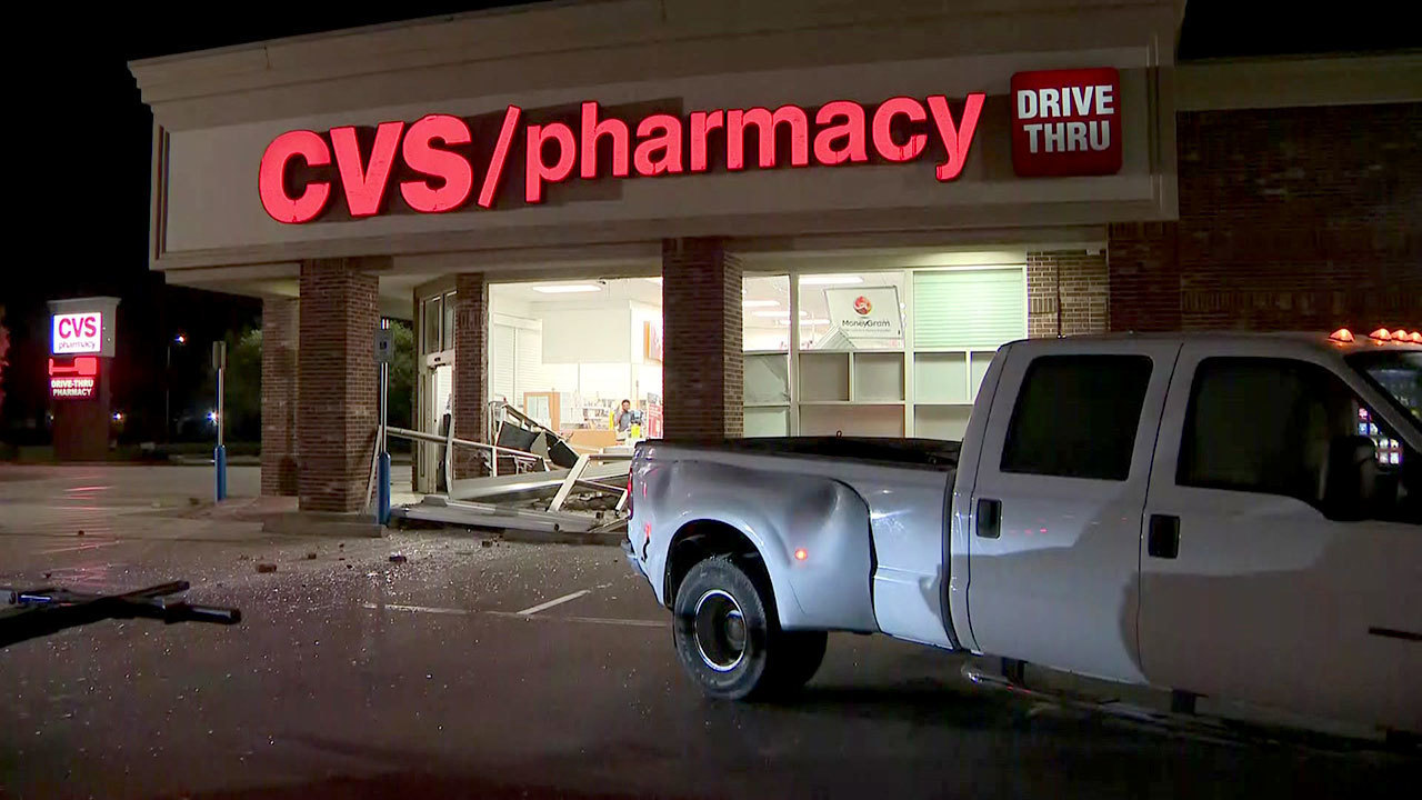 Stolen truck used in smash-and-grab at southwest Houston