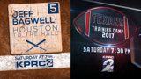 'Jeff Bagwell: Houston to the Hall' and 'Houston Texans Training Camp'&hellip&#x3b;