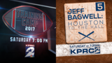 Texans 'Training Camp 2017' and 'Jeff Bagwell: Houston to the Hall'&hellip&#x3b;