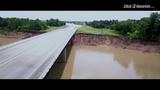 Grand Parkway bridge repair drone video