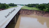 Repairs to damaged bridge in Fort Bend County