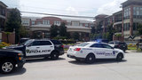Search for chase suspects after bank robbery, police chase in Katy