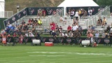 Texans fans travel to see training camp in West Virginia