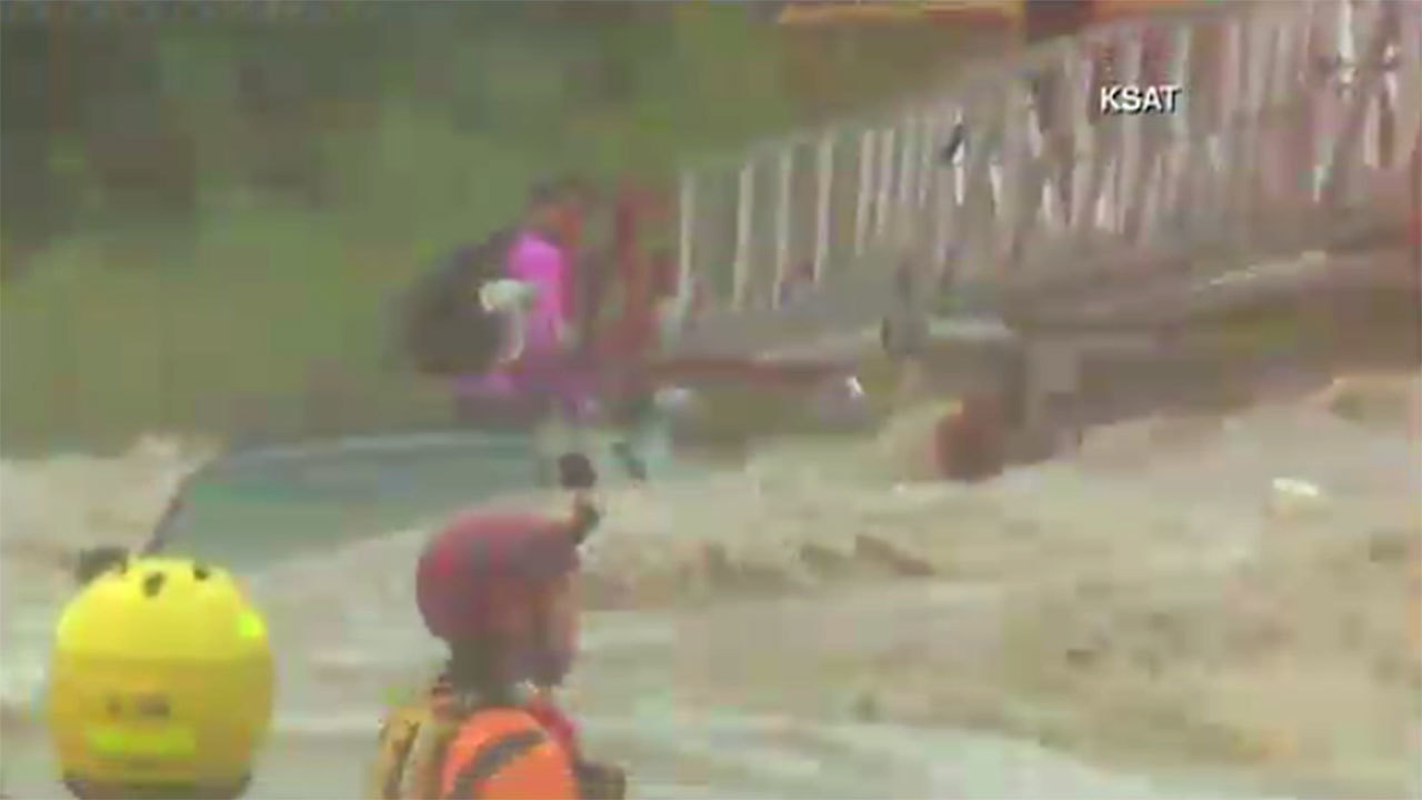 LIVE: Rescue crews work to save person trapped in San ...