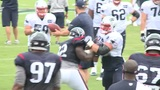 Texans, Patriots use time at joint practices to catch up with old, new friends