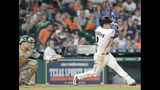 McHugh throws 6 innings in Astros' 3-0 win over A's