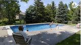 Man installs pool for kids in neighborhood