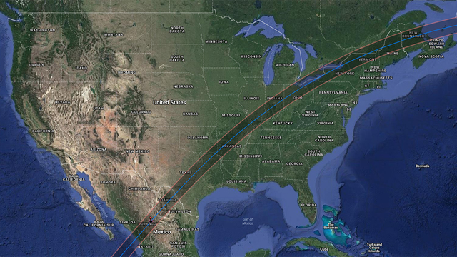 Americas next total eclipse comes right through Texas in 2024