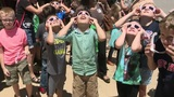Houstonians soak up Great American Eclipse