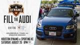 Dynamo's 'fill the Audi' event