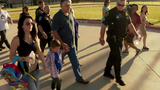 Police escort son of fallen officer to his first day of school