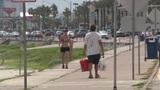 Galveston Island prepares for Harvey's impact