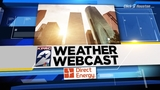 Warm morning scattered storms expected Wednesday