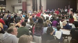 Flood victims demand answers at Bear Creek community meeting