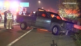 VIDEO: Driver crashes after losing steering wheel