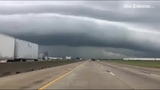 Storms seen moving through Katy area