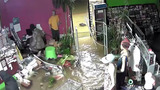 VIDEO: Beauty supply store looted repeatedly during Hurricane Harvey