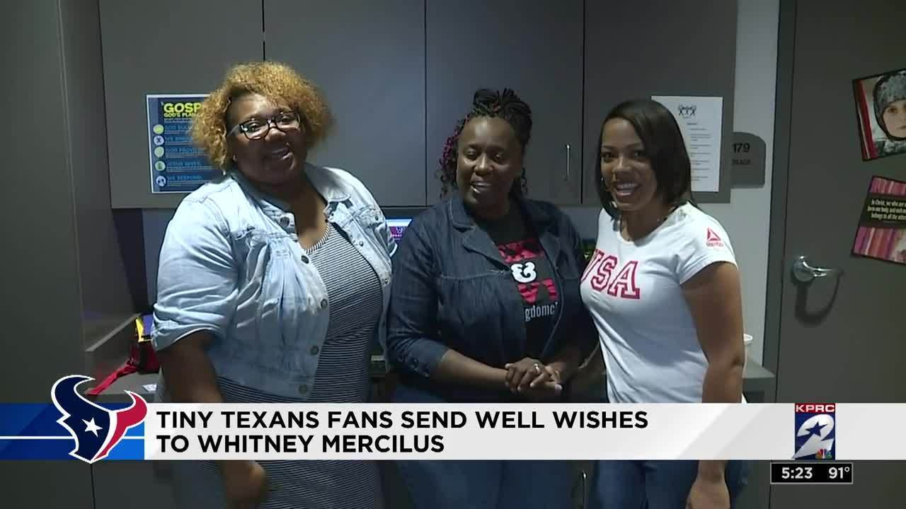 Fans send well wishes to Whitney Mercilus