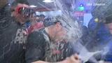 Astros Clubhouse celebration