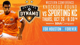 Dynamo to host Sporting KC in MLS Cup Playoffs knockout round