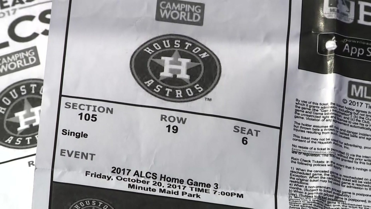 photo about Astros Schedule Printable named Lady warns Astros enthusiasts the moment getting fraudulent printable