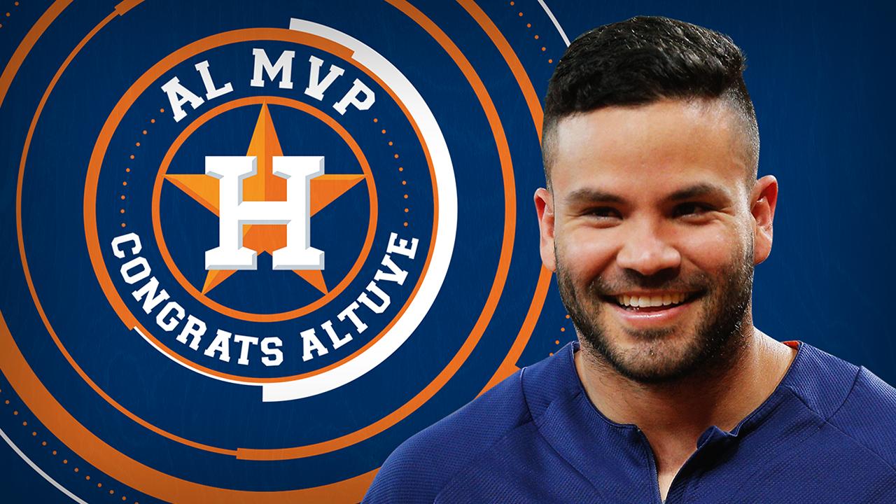 Astros Jose Altuve named 2017 American League MVP