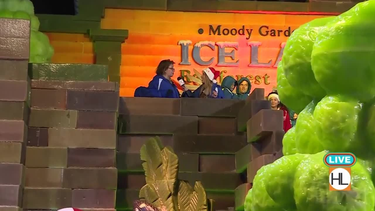 Moody Gardens Ice Land Preview