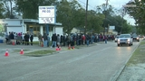 Long lines form for Flying Saucer Pies