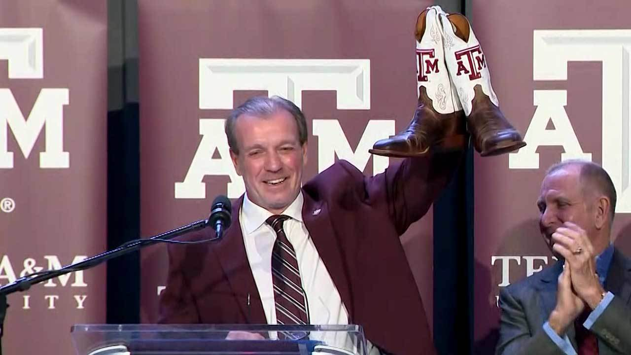 Jimbo Fisher introduced as new Texas A&M football coach