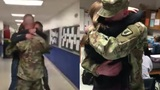 Soldier returns to surprise siblings, home damaged by Harvey