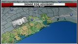Dense fog advisory until 10 a.m.