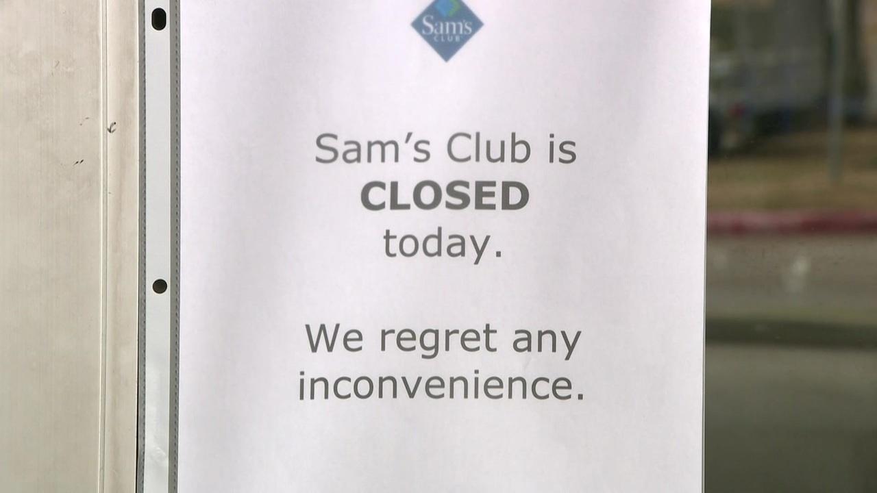 3 Houston-area Sam\'s Club stores abruptly close