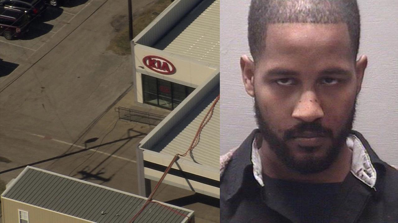 Employee shoots supervisor at Dickinson car dealership, police say