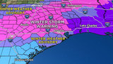 Winter storm warning issued for Houston area