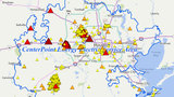 Thousands of power outages reported across Houston area
