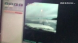Patrol vehicle loses control on icy patch - dashcam video