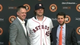 Astros introduce starting pitcher Gerrit Cole