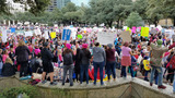 Marches supporting women, criticizing Trump held in Texas