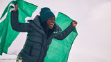 First Nigerian Winter Olympic bobsled team trains in Houston