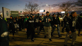 Arrests reported as Eagles fans take to streets to celebrate