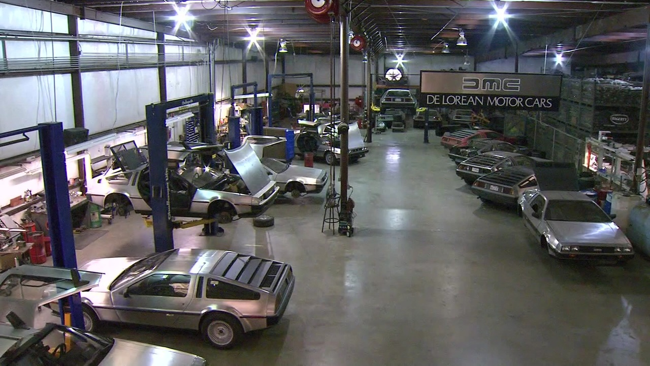 Delorean Production Possibly Starting Soon In Houston Area
