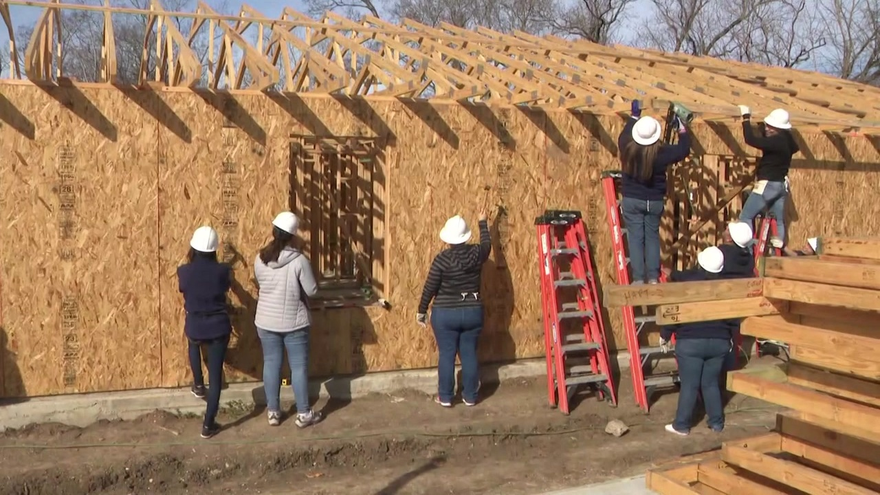 Habitat For Humanity Home Building Program