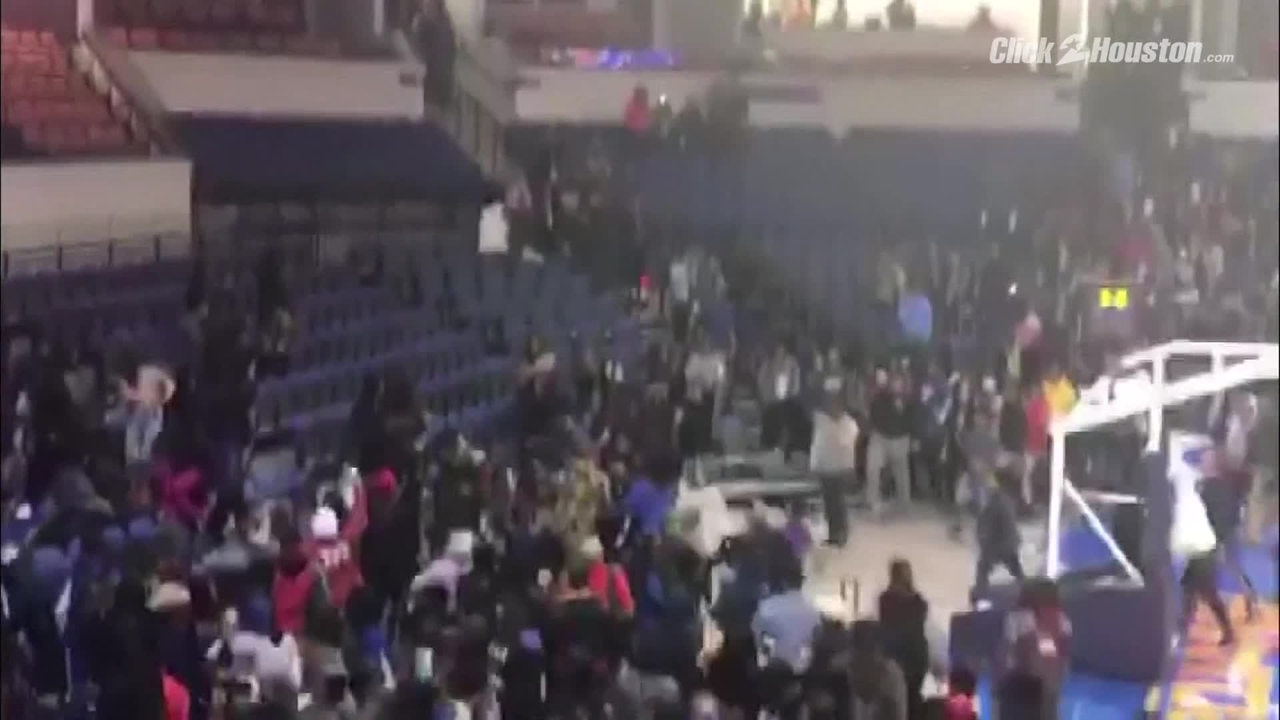Video Brawl Breaks Out After College Basketball Game