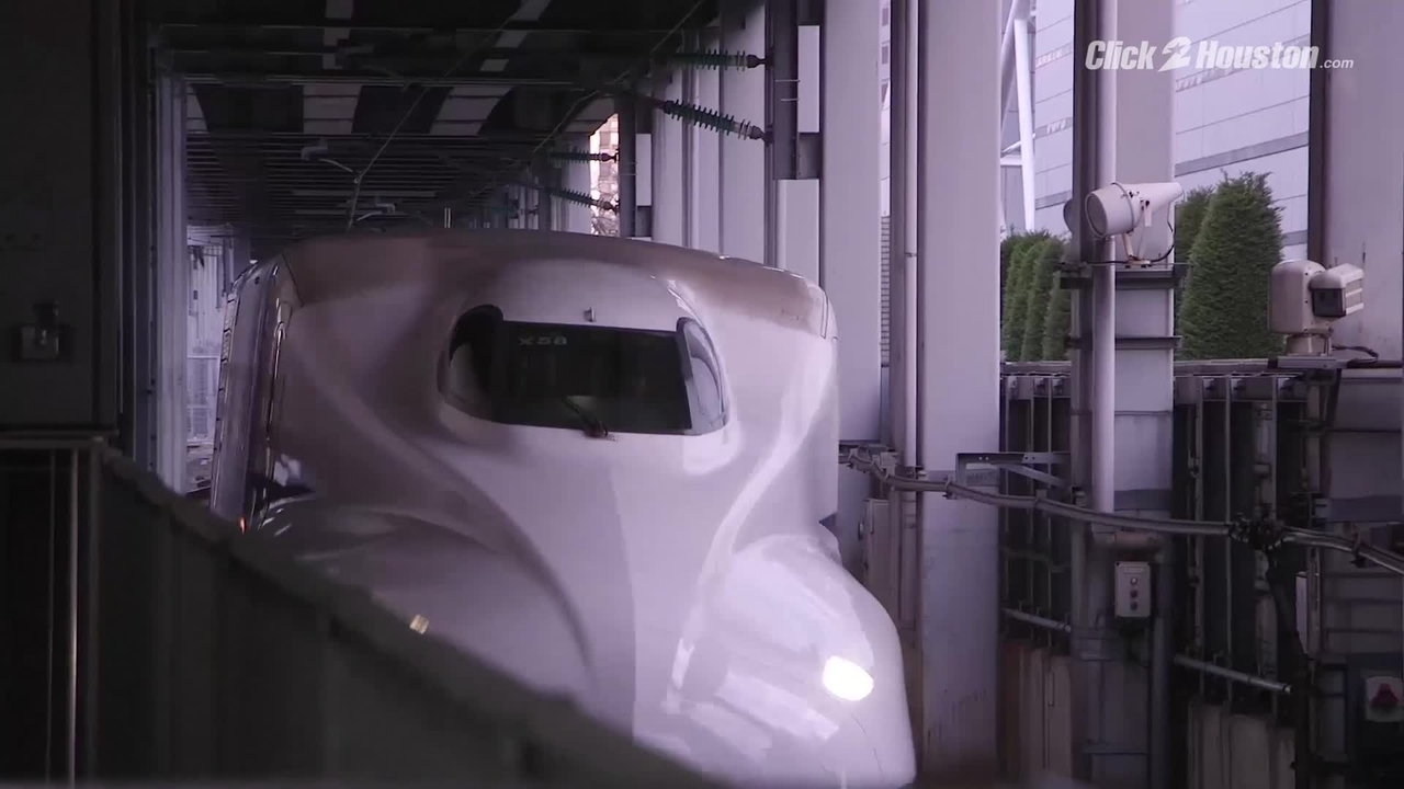 Proposed Texas bullet train station would bridge