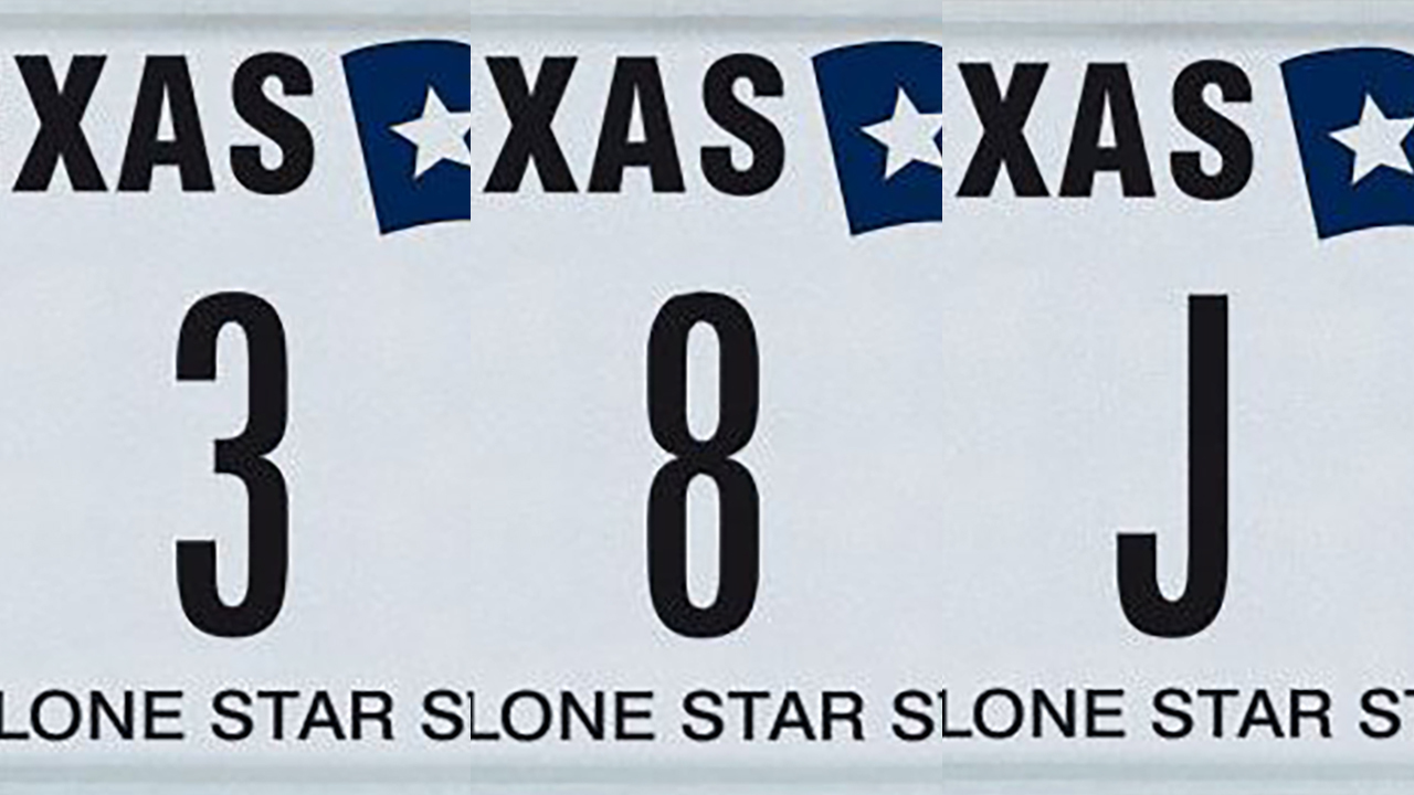 rare texas license plates up for auction. Black Bedroom Furniture Sets. Home Design Ideas