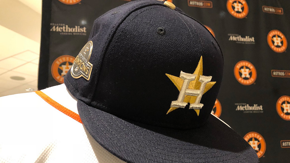 low priced 2c877 96dcc Astros release new 2018 merchandise during 24-hour gold rush