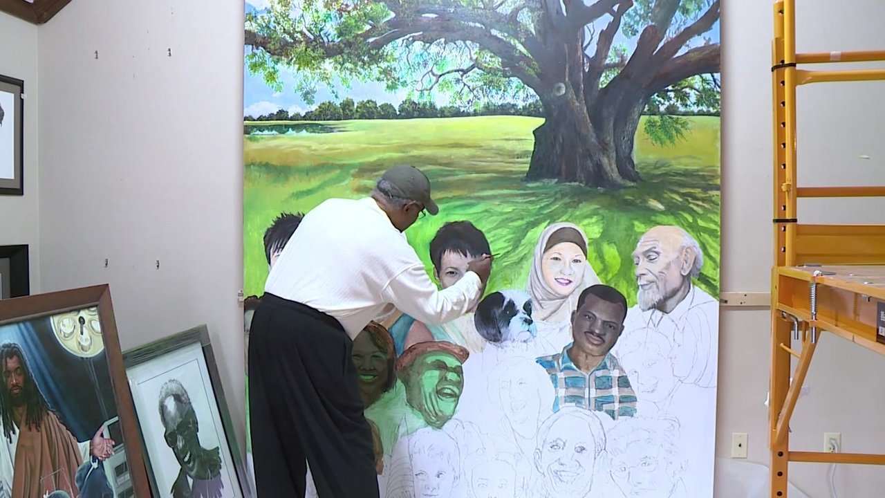 Special mural to be revealed at missouri city 39 s black for Black history mural