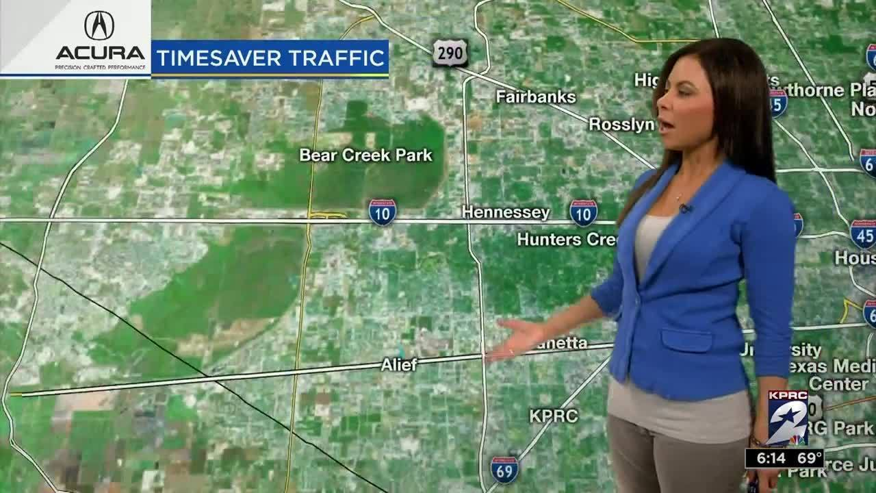 Weekend traffic, road closures with Jennifer Reyna