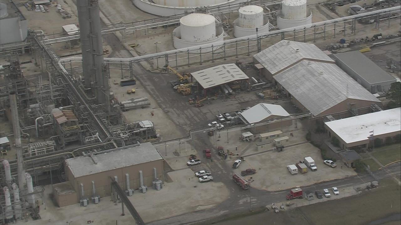 Line breach at la porte gas facility prompts reports of for La porte tx water department